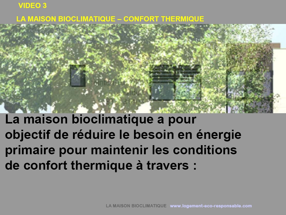 Maison bioclimatique piscine naturelle